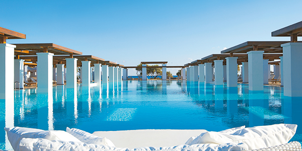 Water and sports activities amirandes luxury resort crete for Swimming pool trade show barcelona