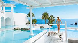 hôtel de luxe mykonos